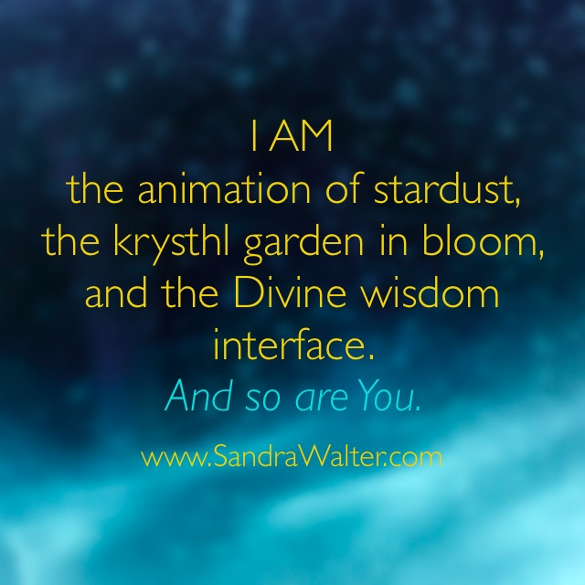 I AM stardust