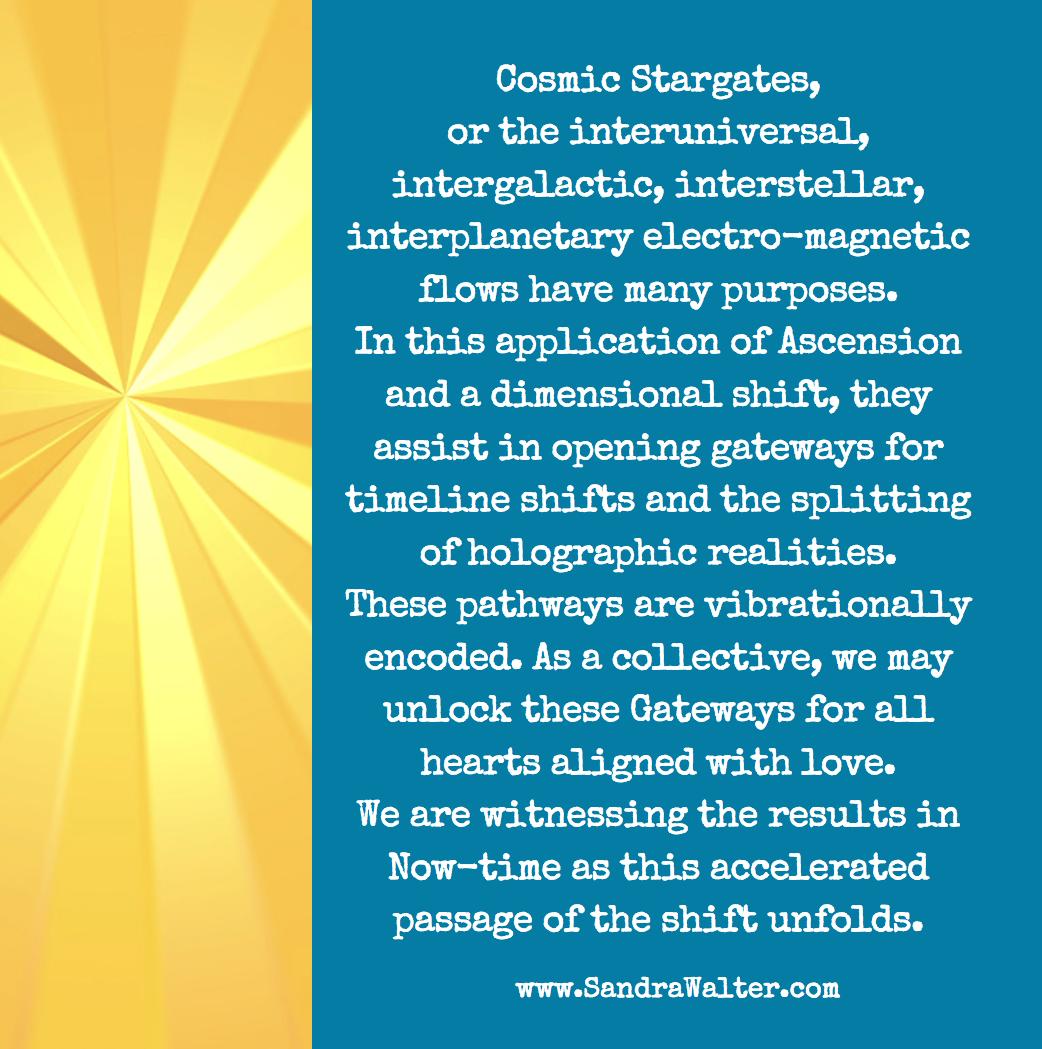 Cosmic Stargates